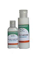Лак Акрилатный Gloss Varnish TRANSPARENT Water Series 120 мл