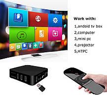 Беспроводная мини клавиатура пульт для Android Smart Tv, приставок HTPC, IPTV, ПК, XBOX, фото 2