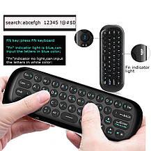 Беспроводная мини клавиатура пульт для Android Smart Tv, приставок HTPC, IPTV, ПК, XBOX, фото 3