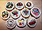 Вафельная картинка для капкейков маффинов кексов любовь, фото 8