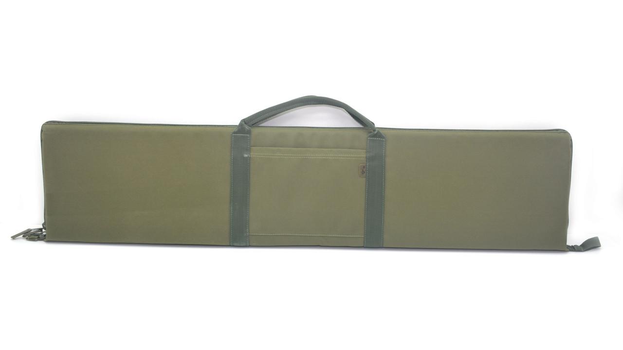 Чехол для помпового ружья прямоугольный синтетический хаки 110см* 25см 5254-х