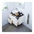 Шкаф с раковиной IKEA GODMORGON / TOLKEN / TÖRNVIKEN 82x49x74 см с ящиками белый антрацит 191.910.71, фото 2