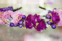 Обруч Ягодки и Цветы, фото 1