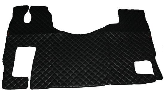 Килимки Mercedes-Benz Actros MP-2,3 чорні з 3-х частин для вантажівок(6826), фото 2