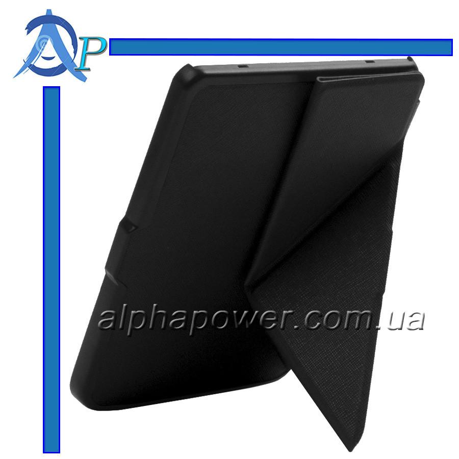 Обложка (чехол) для электронной книги PocketBook 614/615/624/625/626/626 plus/Touch Lux 3 полиуретановая чорна