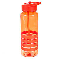 Пляшка для спорту, червона (800 мл), фото 1
