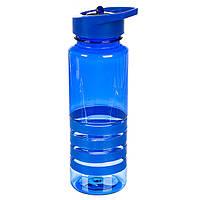 Бутылка для спорта, синяя (800 мл.)