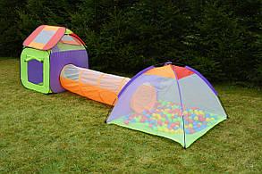 Комплект палаток для детей, 200 шариков, фото 3