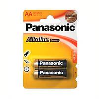 Батарейка AA Panasonic Alkaline Power блістер (2шт) Panasonic LR6REB/2BP Picture