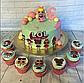 Вафельная картинка на торт  кукла лол 19, фото 9