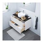 Шкаф с раковиной IKEA GODMORGON / TOLKEN / TÖRNVIKEN 102x49x74 см с ящиками белый антрацит 791.849.11, фото 2