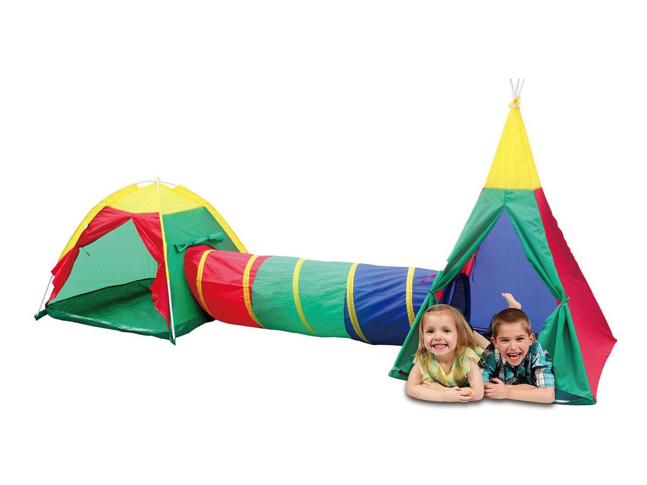Детские игровые палатки, домики 3 in 1, с тоннелем,вигвам