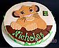 Вафельная картинка на торт король лев 4, фото 7