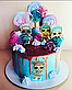 Вафельная картинка на торт кукла лол 28, фото 7