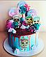 Вафельная картинка на торт кукла лол 38, фото 7