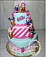 Вафельная картинка на торт кукла лол 44, фото 8