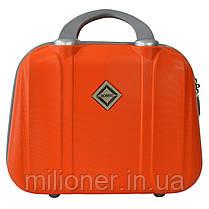 Комплект чемодан + кейс Bonro Smile (большой) оранжевый, фото 3