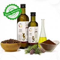 Кедрового горіха олія холодного віджиму сиродавлена 250мл/500мл/1л Земледар