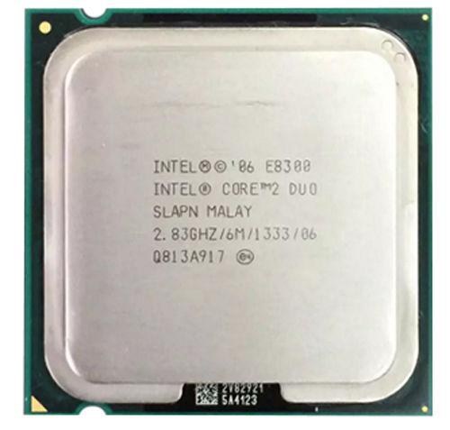 Процессор(775) Core 2 Duo E8300 6 МБ кэш-памяти, тактовая частота 2,83 ГГц, частота системной шины 1333 МГц