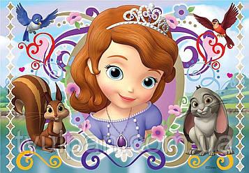 Вафельная картинка на торт София Прекрасная 12