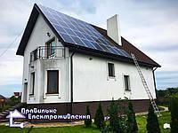 Мережева сонячна електростанція 30 кВт м. Луцьк
