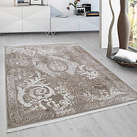 Турецкие классические бежевые ковры, недорогие ковры, ковры Турция