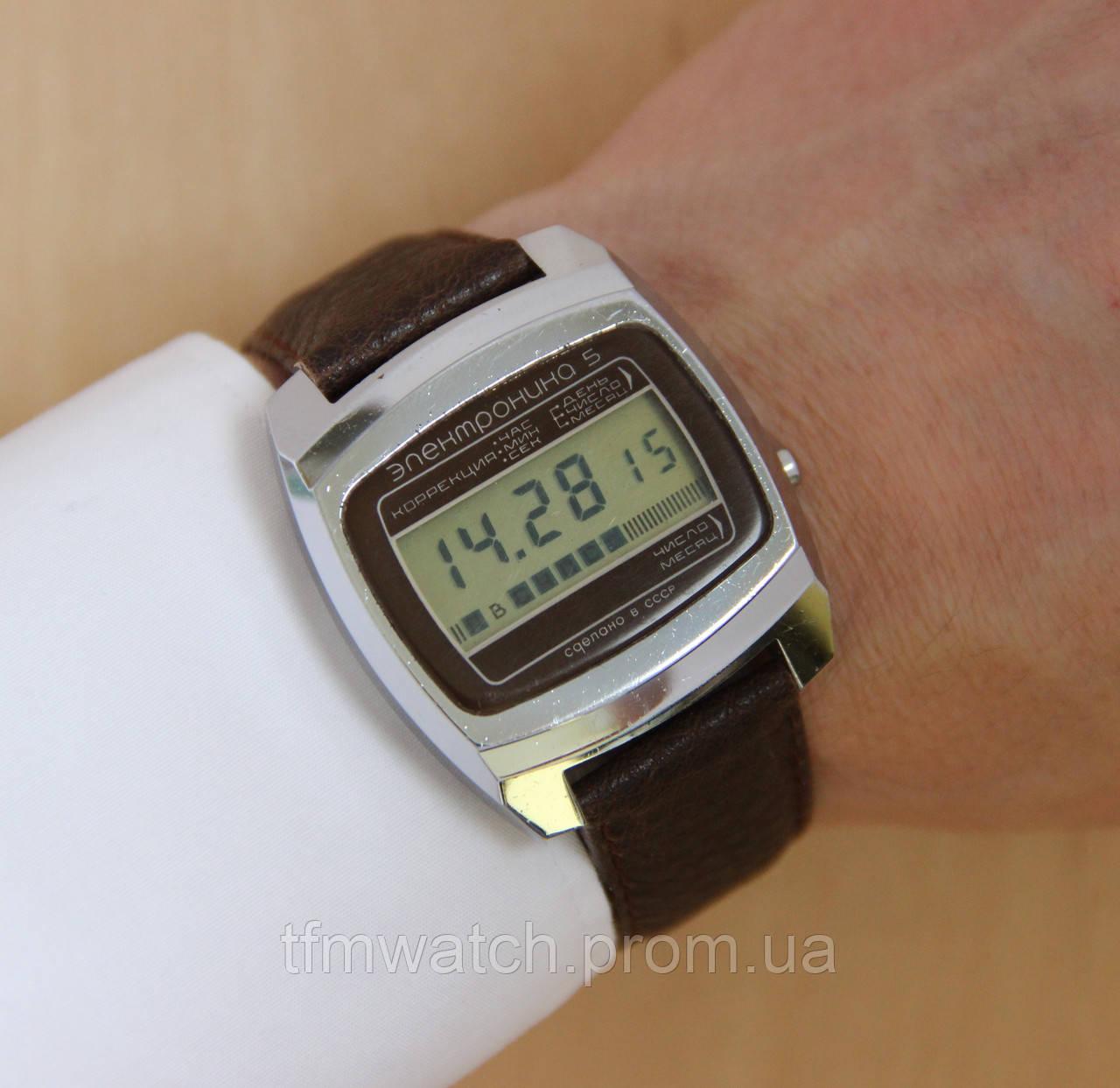 b420a104 Электроника 5 наручные электронные часы СССР в: продажа, цена в ...