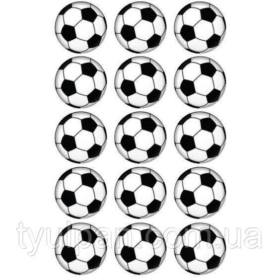 Вафельная картинка на торт спорт футбол 7