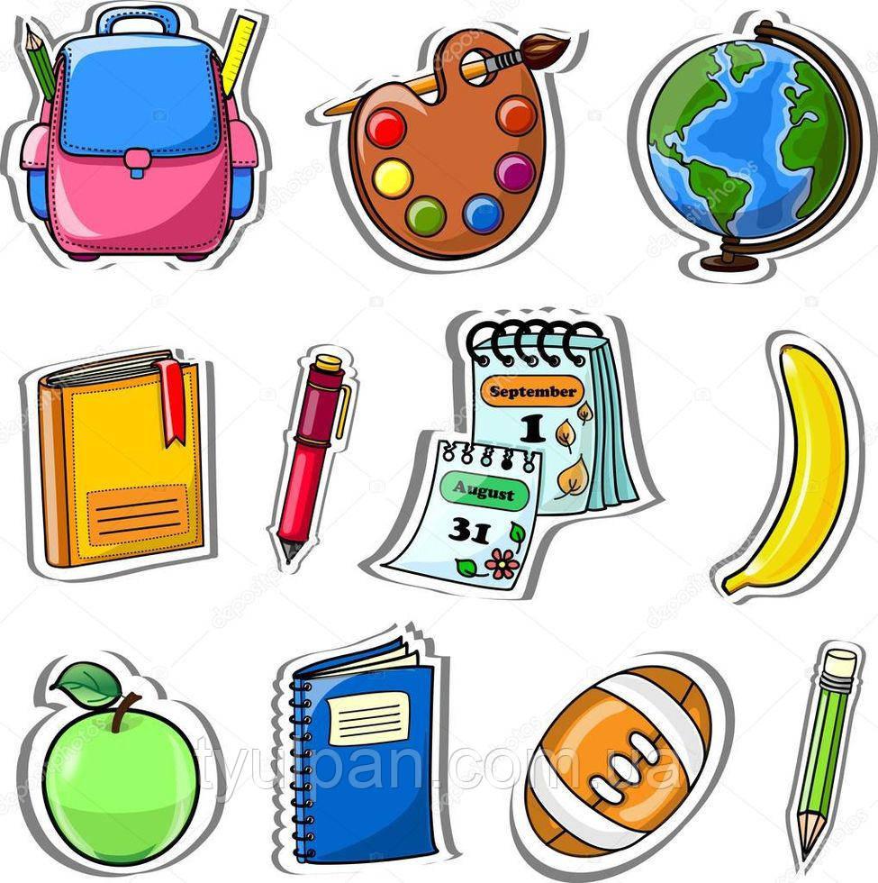 Вафельная картинка на торт школа  детский сад 08