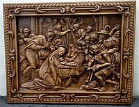 Панно резное Рождество Христово 70*56 см, фото 1