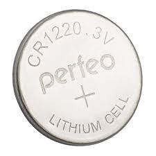 Perfeo батарейка CR1220 3V, Lithium, Blister/5