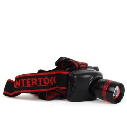ET-6108 Профессиональный набор инструментов 108ед + Подарок: LB-0303 Фонарь налобный светодиодный сверхмощный INTERTOOL ET-6108.A, фото 2