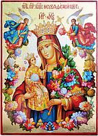 """Икона Пресвятой Богородицы """"Неувядаемый цвет"""", фото 1"""