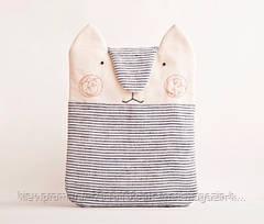 Чехол рукав для ipad air2 кот полосатый ткань ручной работы