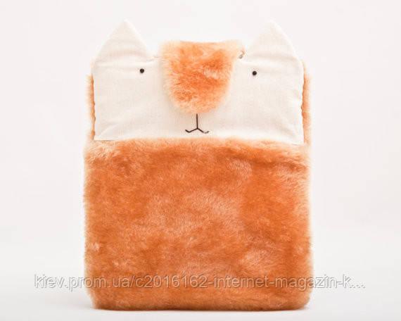 Чехол для samsung tab пушистый ручной работы кролик оранжевый