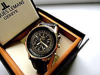 Модные кварцевые часы BREITLING под TISSOT цвет Золото, купить