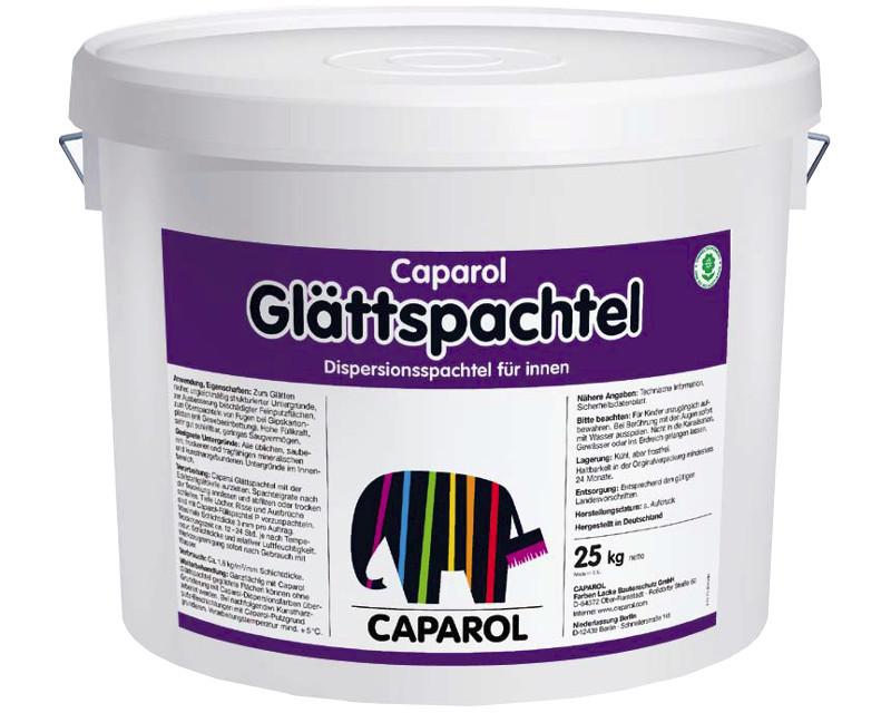 Шпатлевка акриловая CAPAROL GLATTSPACHTEL финишная, 25кг