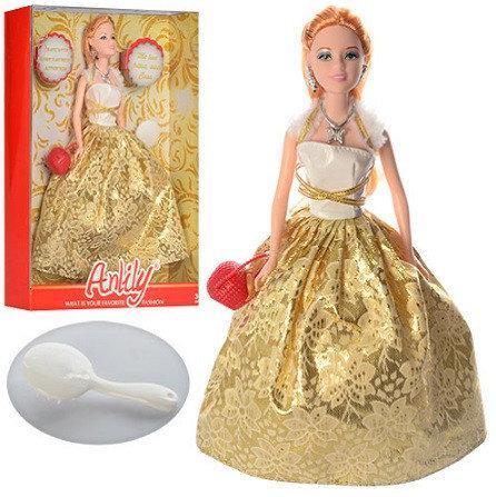 Лялька LH201512-1, сумочка, гребінець, в коробці, 24-31,5-6 см.