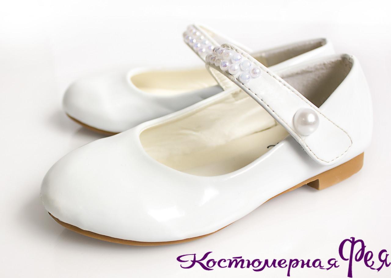 d5ec3599362d Туфли детские белые лаковые (артикул №112)  продажа, цена в Киеве ...