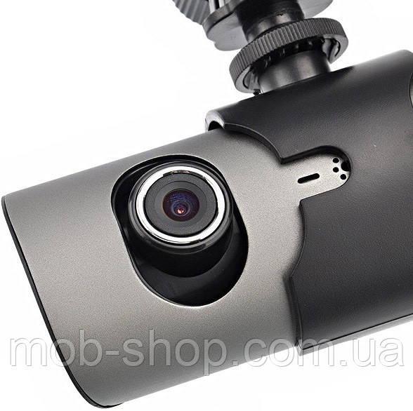 Автомобильный видеорегистратор DVR X3000AV с камерой заднего вида