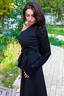 Вечернее платье на одно плечо 0110