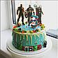 Вафельная картинка супер герои Мстители: Война бесконечности, фото 3