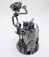 Техно-арт статуэтка Диджей, (19х10,5х11см)