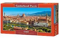 Пазлы Castorland 600 Панорама Флоренции, B-060078