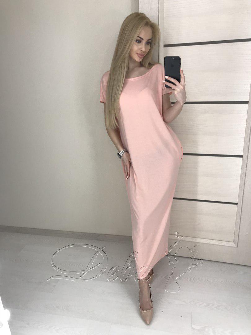 5833cf78096 Купить Платье-балахон женское летнее (К17543)  ...  в Украине