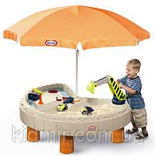 Ігровий стіл - пісочниця Веселе будівництво Little Tikes 401N