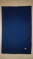 Автомобильная ткань на центра синяя 002/7