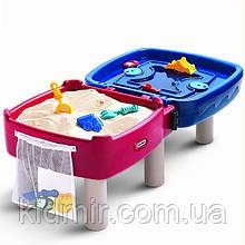 Ігровий водний стіл - пісочниця складаний Little Tikes 451T