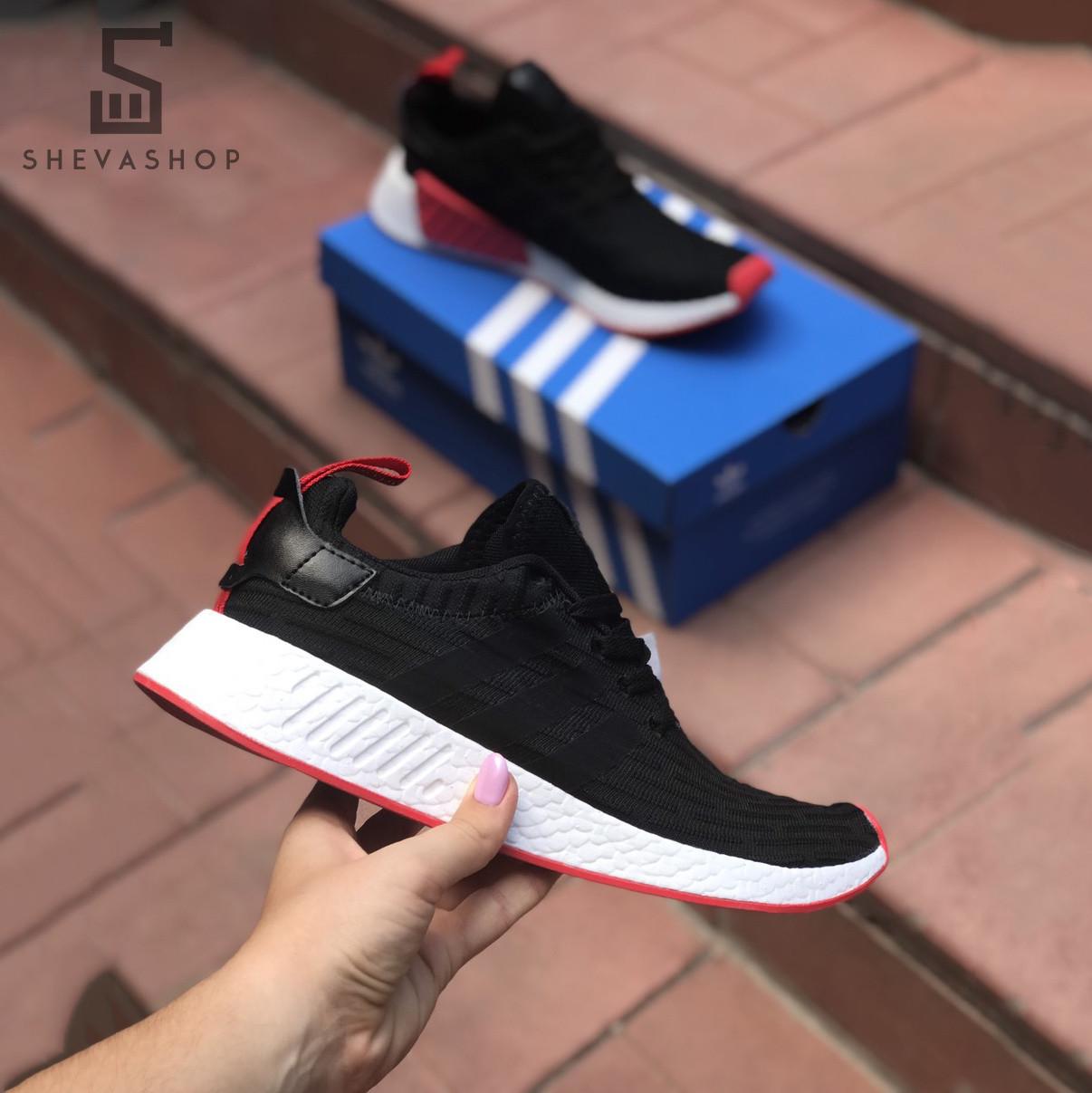 Мужские кроссовки Addas NMD Man черные (копия)