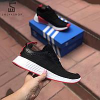 Мужские кроссовки Addas NMD Man черные (копия), фото 1